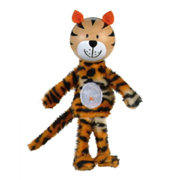Boutique Finger Puppets Fiesta Crafts Toys Tiger at Little Earth Nest Eco Shop