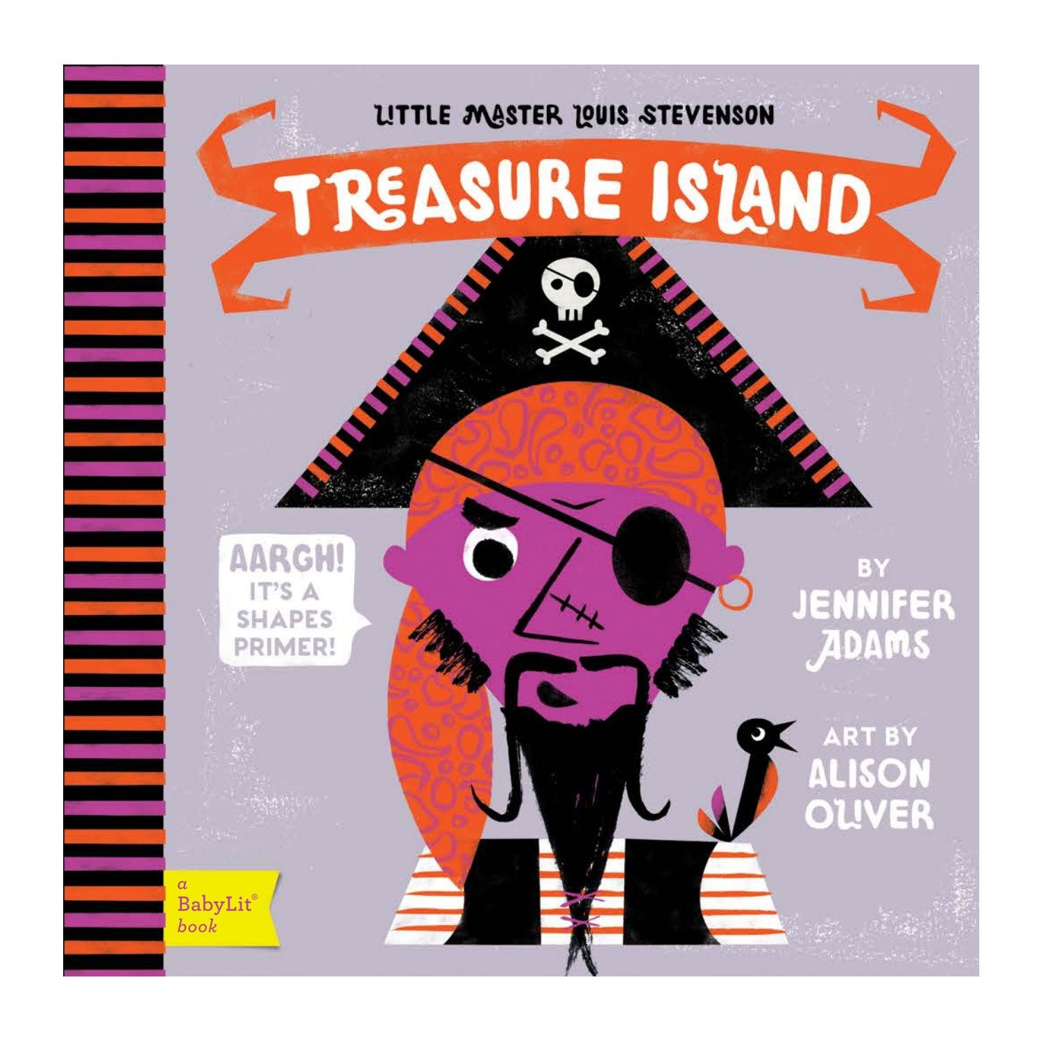 Treasure Island Baby Board Book Babylit Books at Little Earth Nest Eco Shop