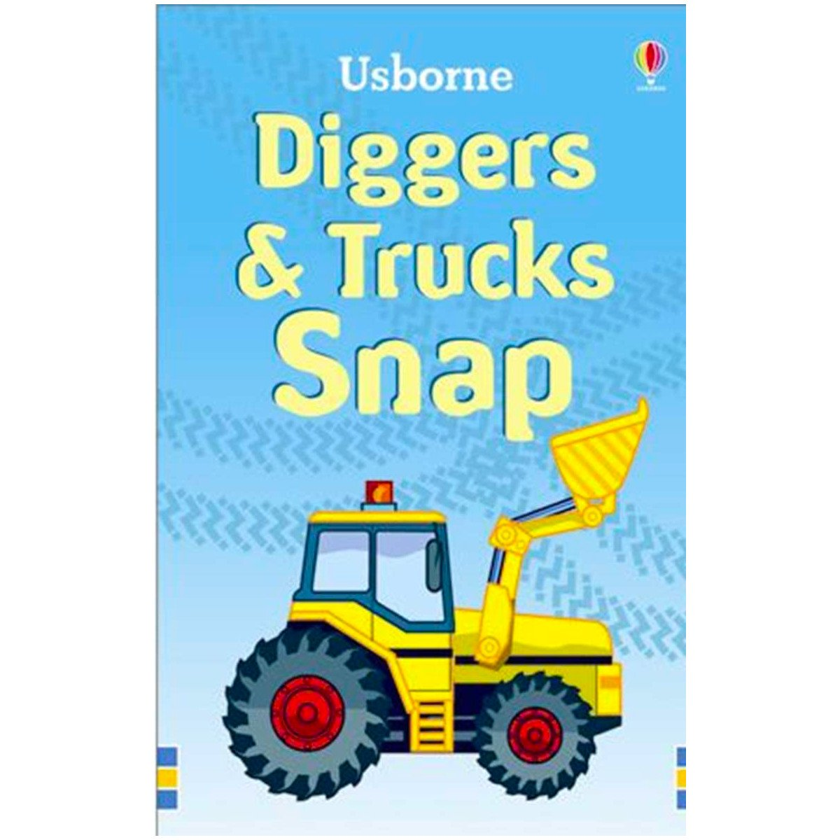 Snap Card Game Usborne Games Diggers & Trucks at Little Earth Nest Eco Shop