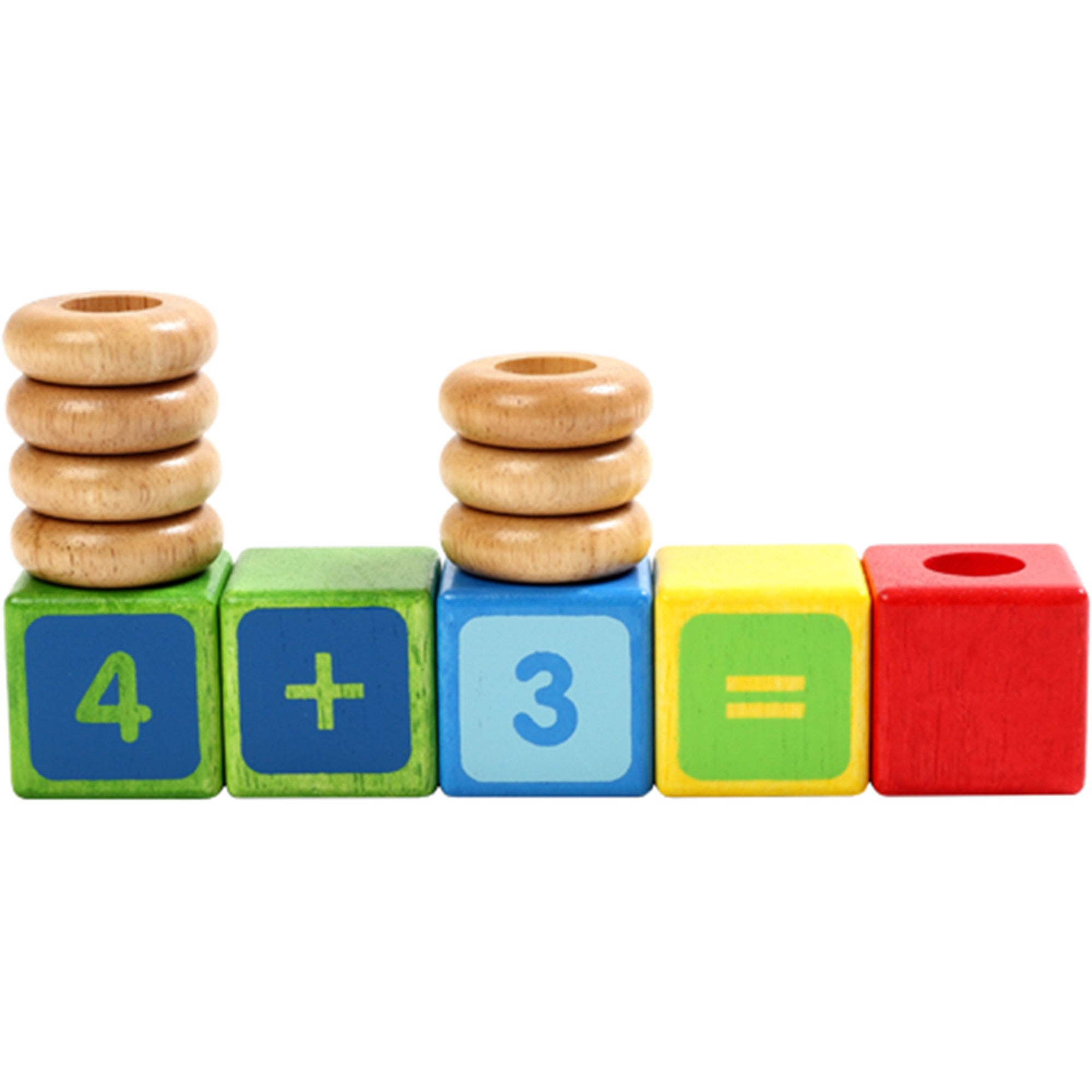 Voila Stacking Numbers Set Voila Activity Toys at Little Earth Nest Eco Shop