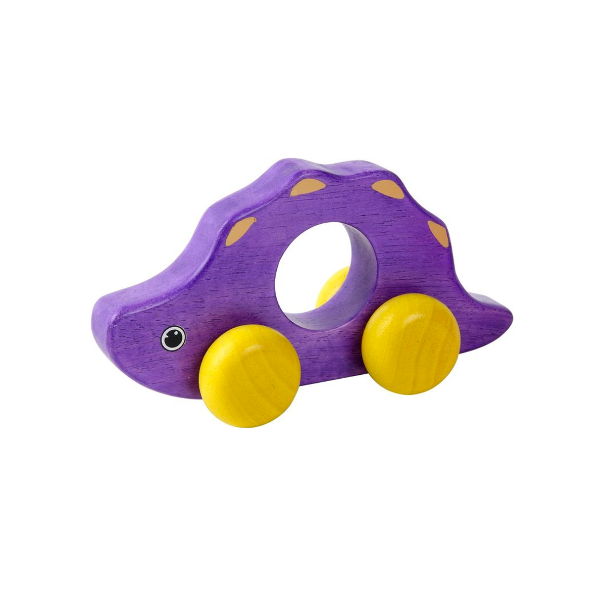 Wooden Toy Roll-a-saurus Voila Push and Pull Toys at Little Earth Nest Eco Shop