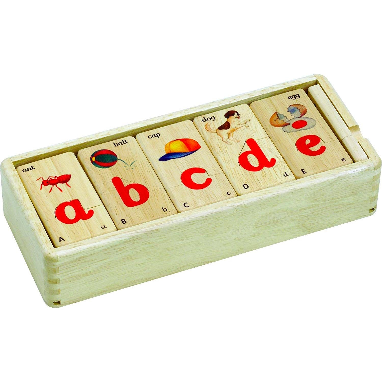 Voila Lower Case Letter Alphabet Puzzle Voila Puzzles at Little Earth Nest Eco Shop