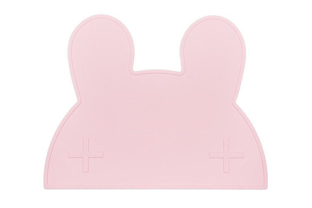 We Might Be Tiny Placemats We Might Be Tiny Dinnerware Bunny / Baby Pink at Little Earth Nest Eco Shop