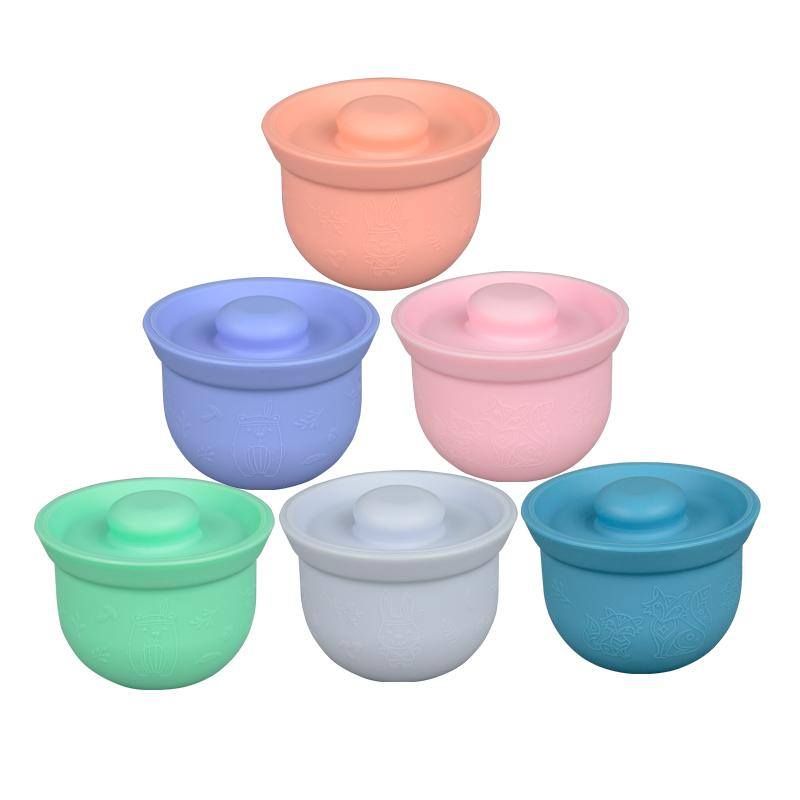 Wean Meister Mini Adora Bowls Wean Meister Food Storage Containers at Little Earth Nest Eco Shop