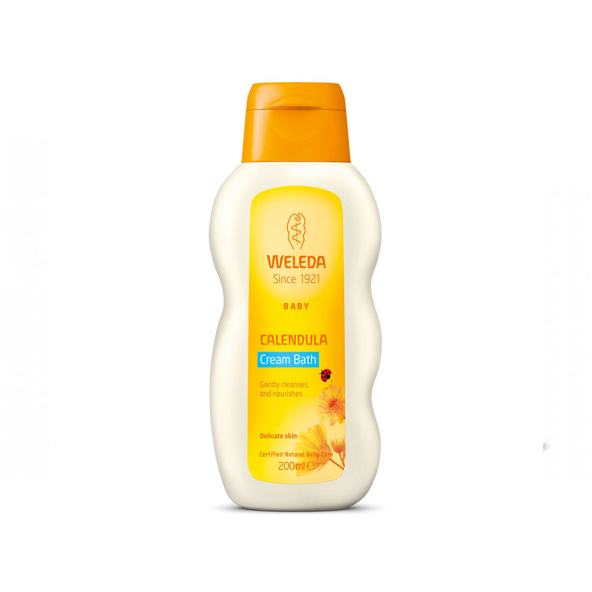 Weleda Calendula Cream Bath 200mL Weleda Bath and Body at Little Earth Nest Eco Shop