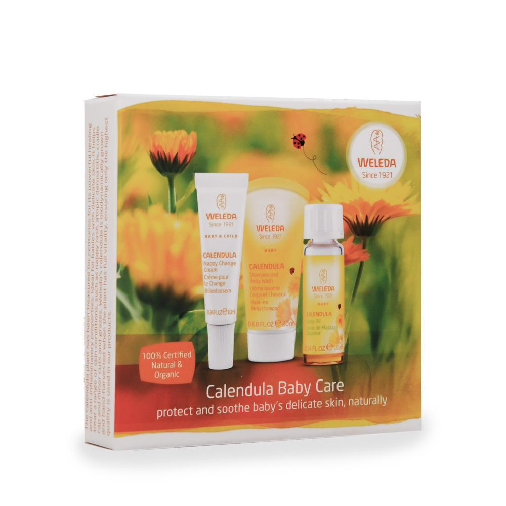 Weleda Calendula Baby Care Starter Pack Weleda Bath and Body at Little Earth Nest Eco Shop