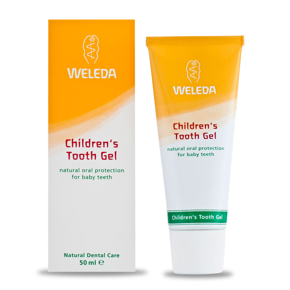 Weleda Childrens Tooth Gel 50g   - Weleda - Little Earth Nest
