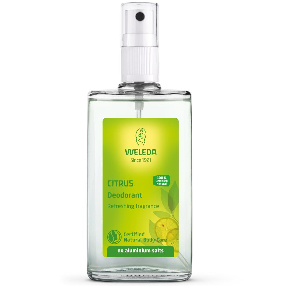Weleda Citrus Deodorant Weleda Deodorants and Anti-Perspirants at Little Earth Nest Eco Shop