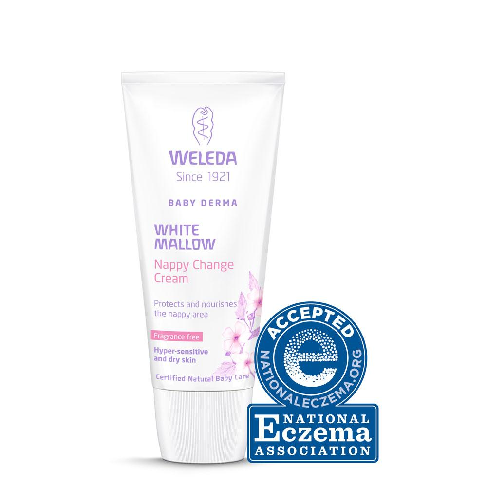 Weleda White Mallow Nappy Cream Weleda Bath and Body at Little Earth Nest Eco Shop