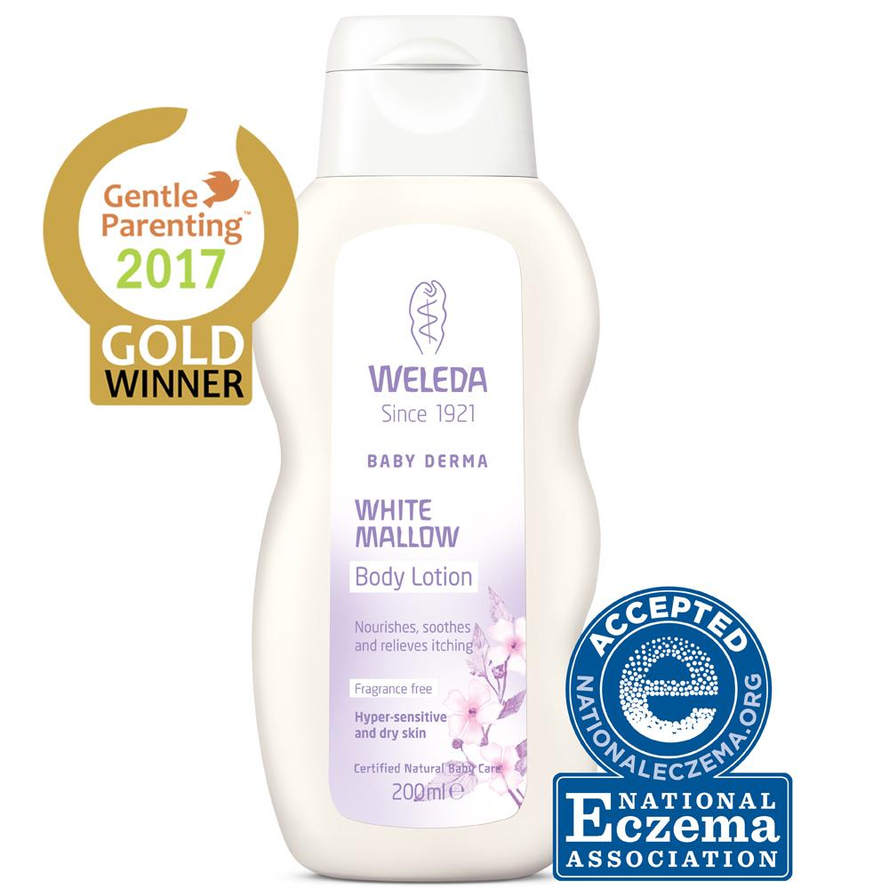 Weleda White Mallow Body Lotion Weleda Bath and Body at Little Earth Nest Eco Shop