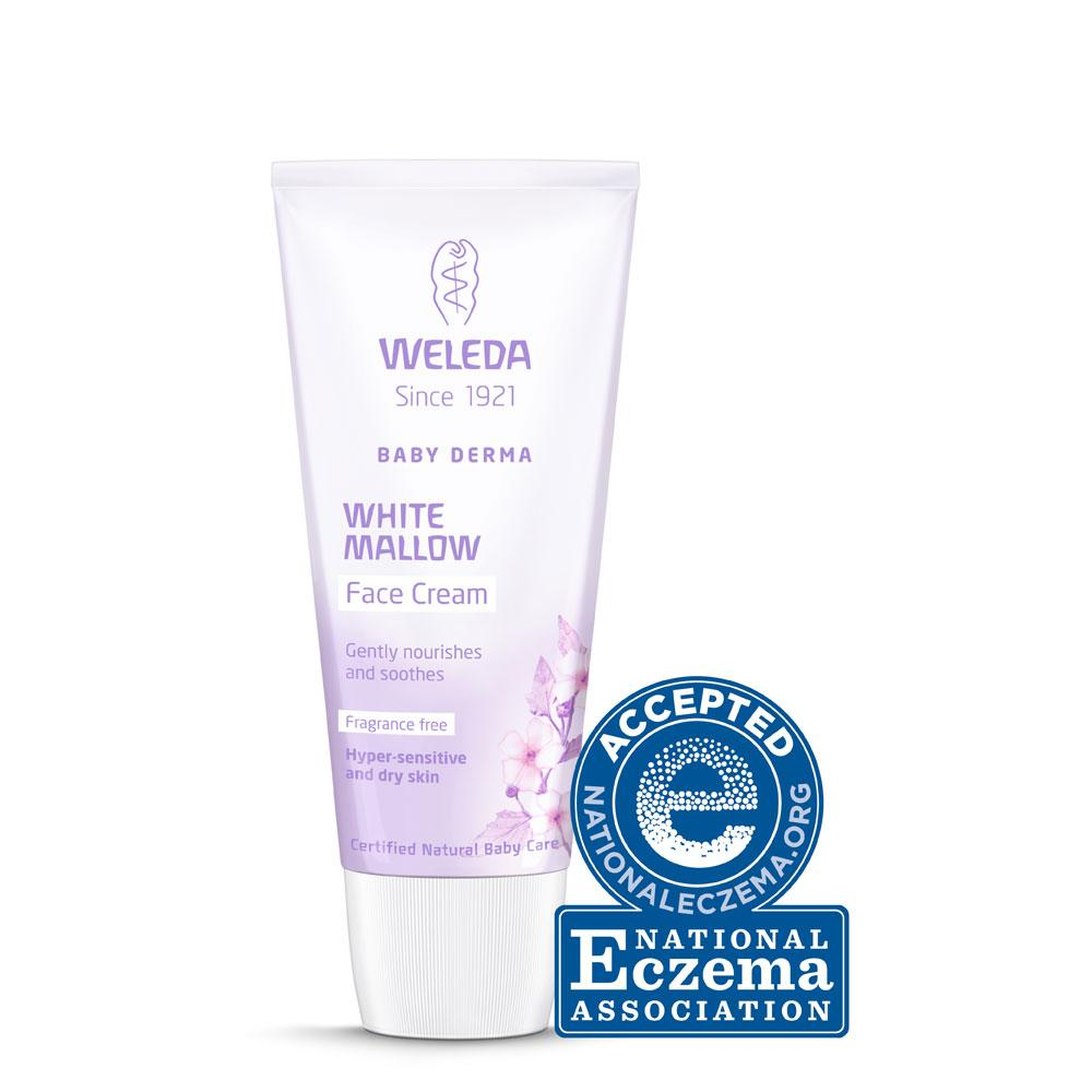 Weleda White Mallow Facial Cream Weleda General at Little Earth Nest Eco Shop