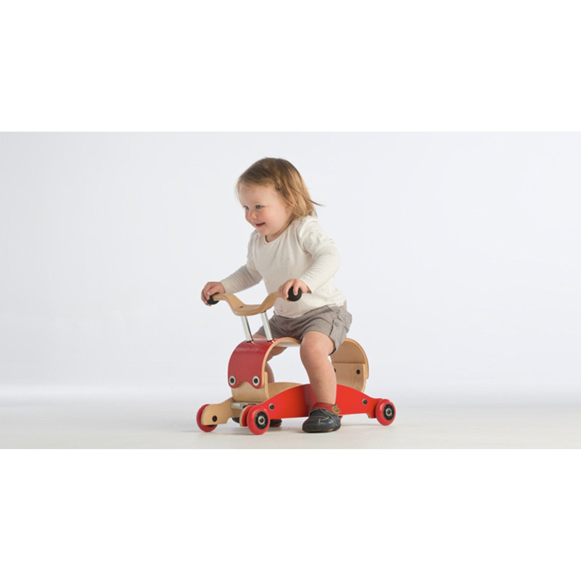 Wishbone Mini Flip Ride On Rocker   - Wishbone Australia - Little Earth Nest - 1