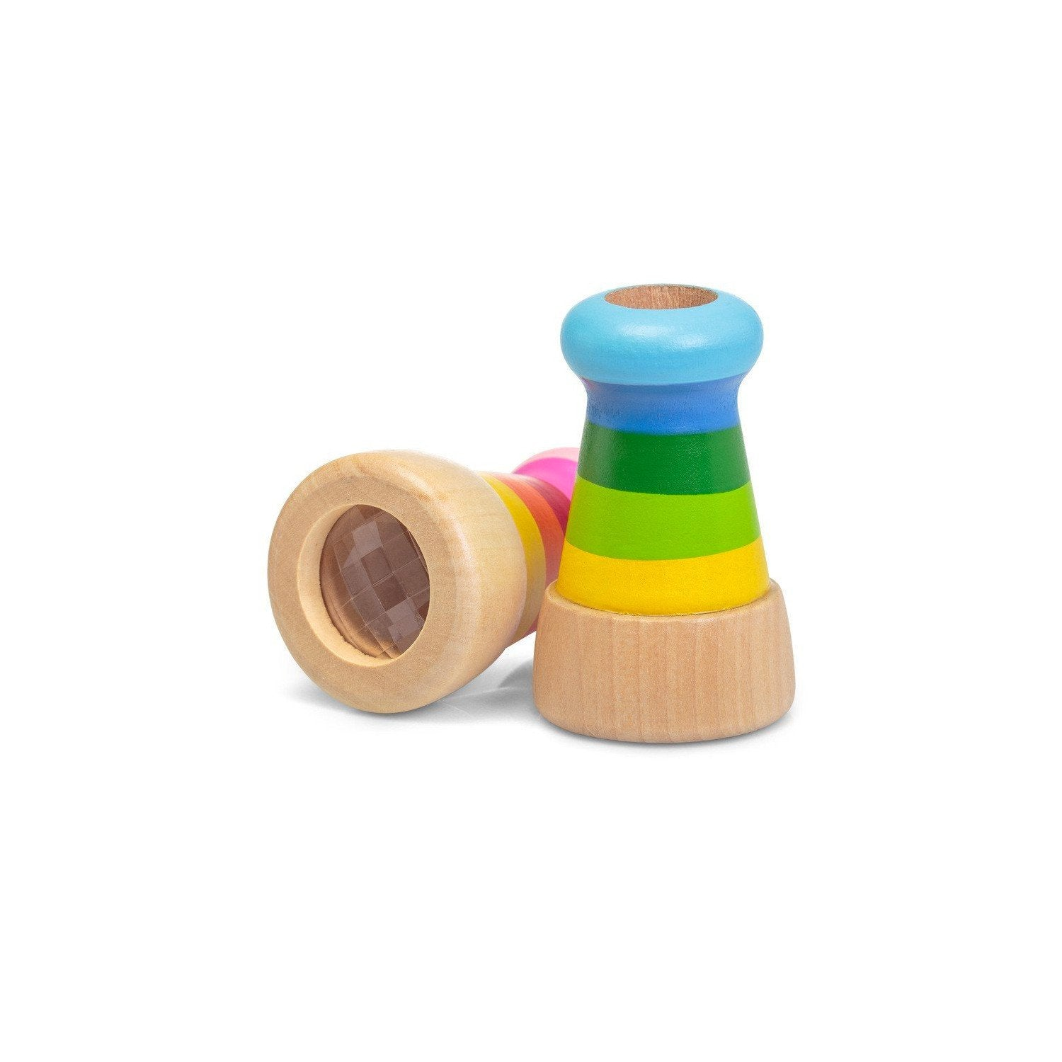 Wooden Telescope Kaleidoscope Keycraft Activity Toys at Little Earth Nest Eco Shop