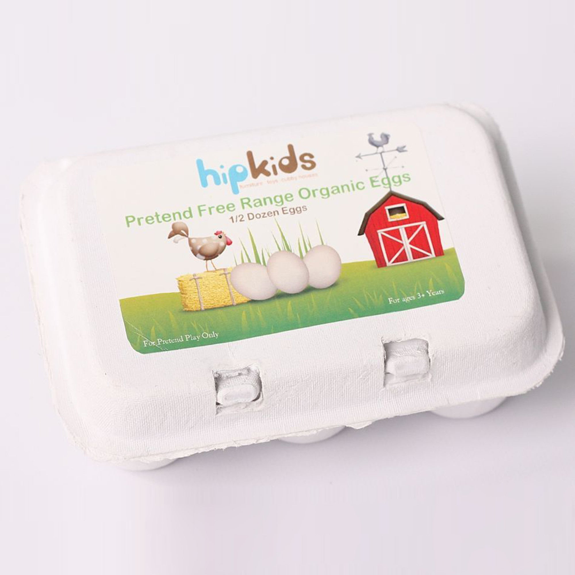 Wooden Eggs and Carton   - Hip Kids - Little Earth Nest - 2