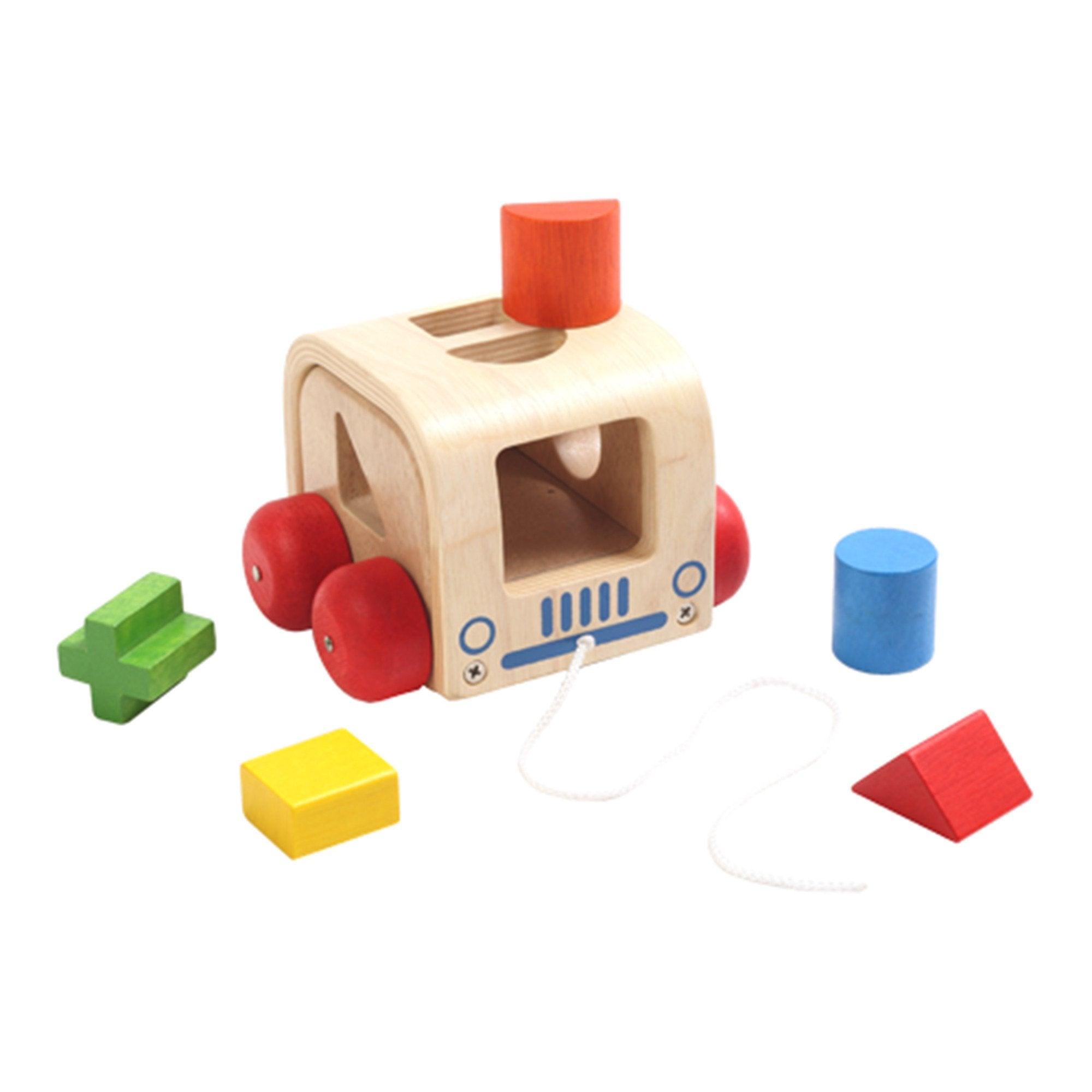 Wooden Slot - Mobile Voila Push and Pull Toys at Little Earth Nest Eco Shop