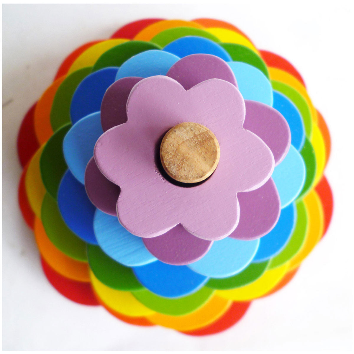 QToys Stacking Flower Toy   - QToys - Little Earth Nest - 3