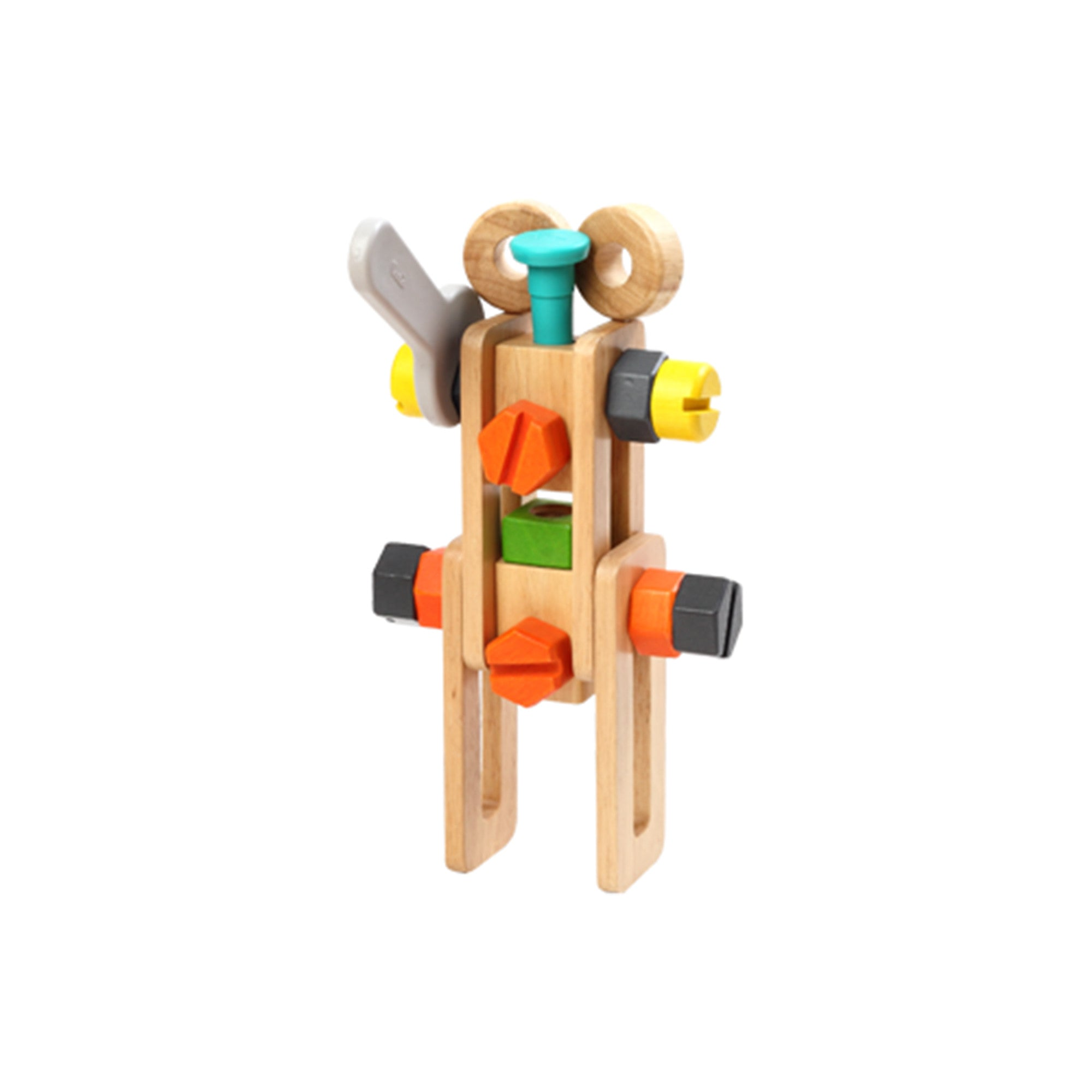 Wooden Toy Tool Set Tool Kit   - Voila - Little Earth Nest - 3