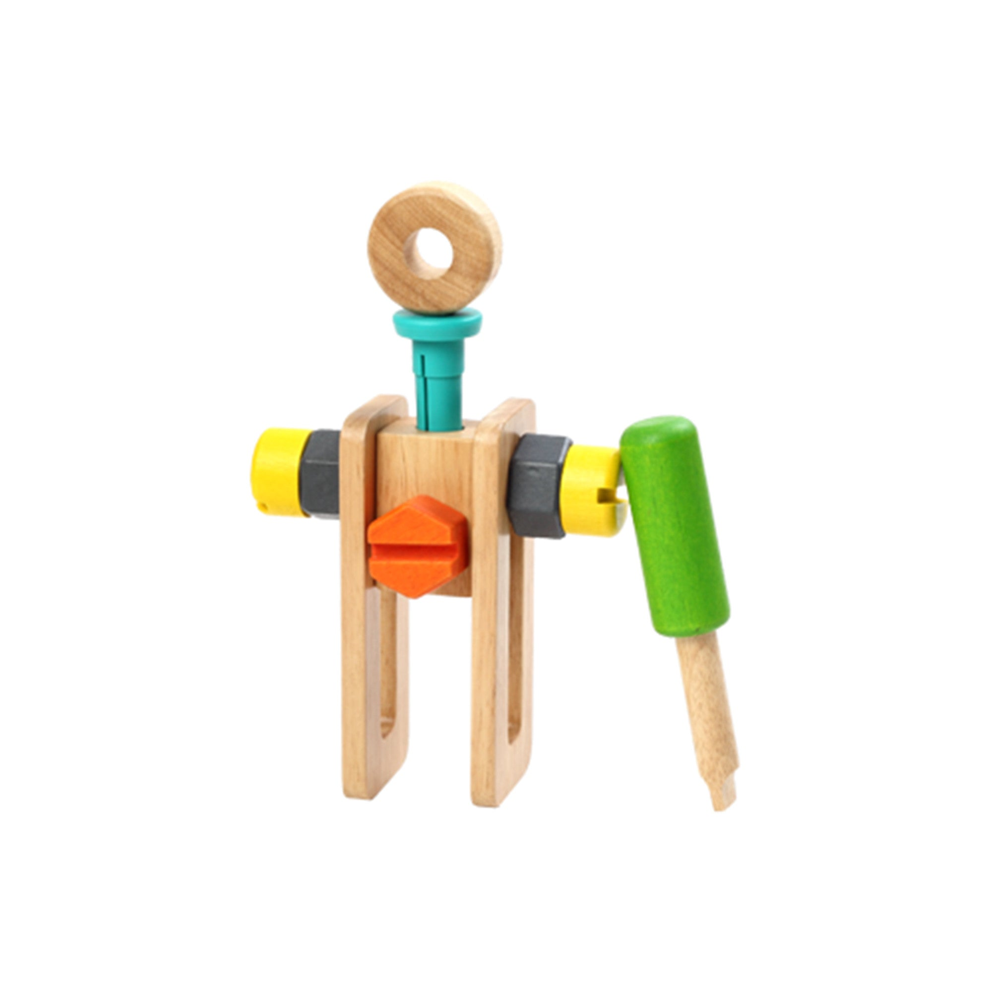 Wooden Toy Tool Set Tool Kit   - Voila - Little Earth Nest - 4