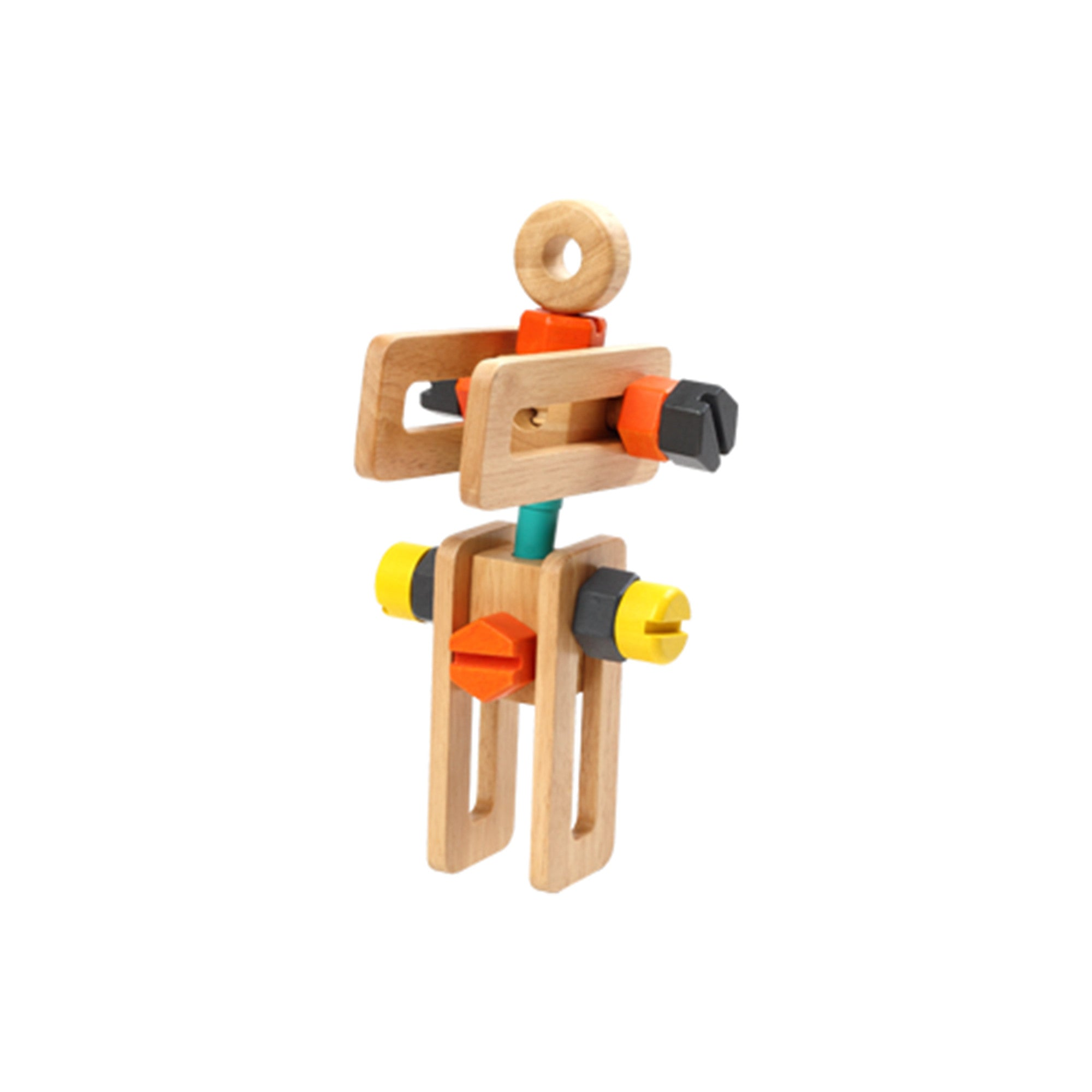 Wooden Toy Tool Set Tool Kit   - Voila - Little Earth Nest - 5