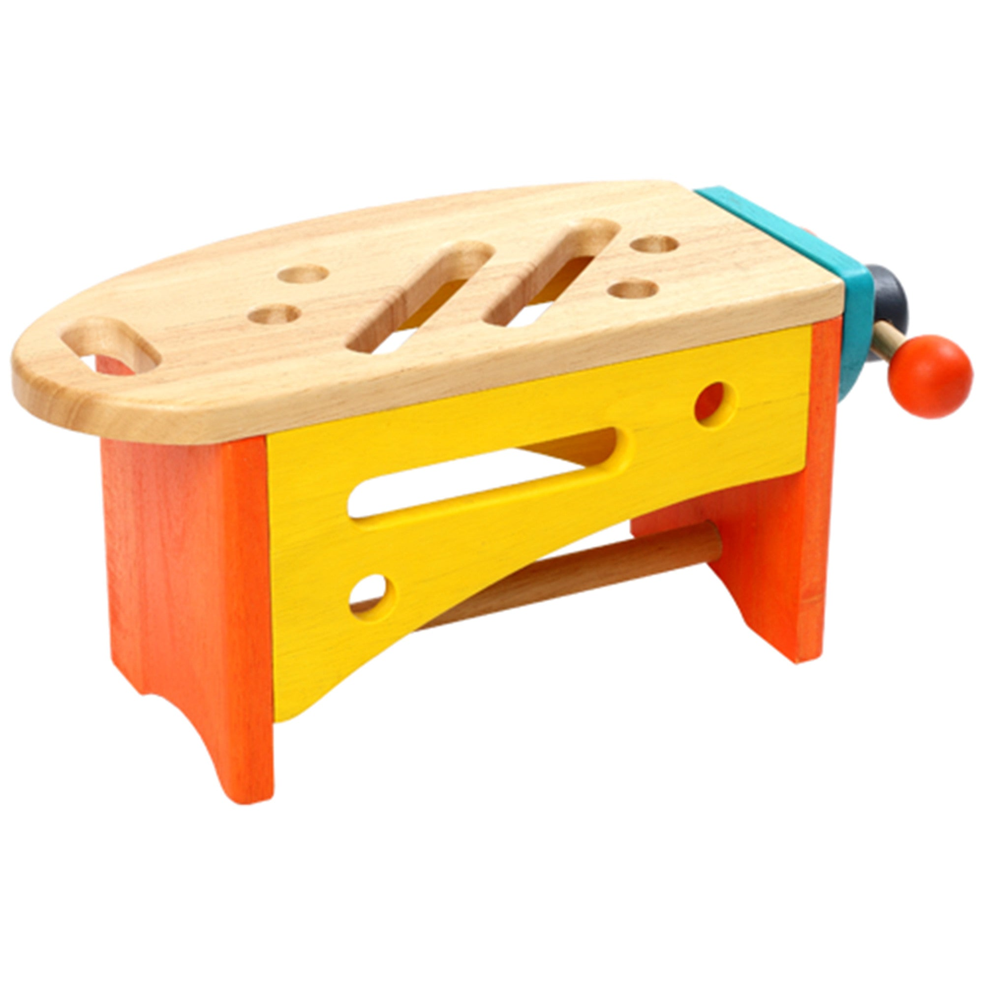 Wooden Toy Tool Set Tool Kit   - Voila - Little Earth Nest - 6