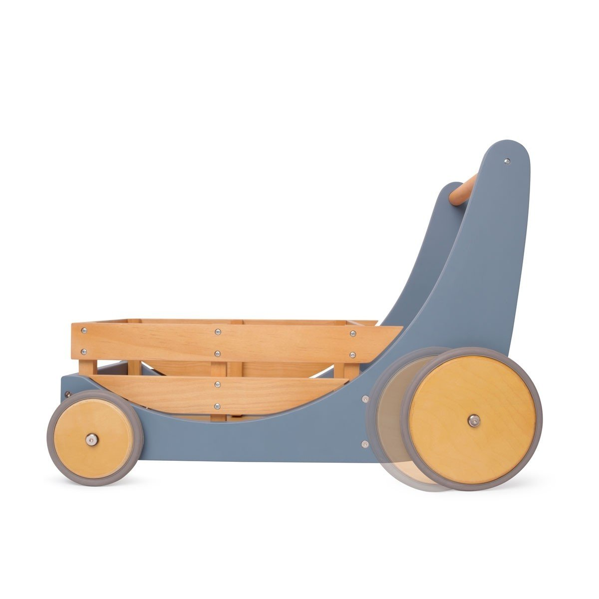 Kinderfeets Cargo Walker Kinderfeets Baby Walkers and Entertainers Slate Blue at Little Earth Nest Eco Shop
