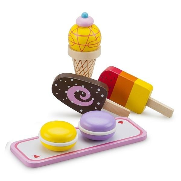 New Classic Toys Gourmet Icecream Set New Classic Toys Pretend Play at Little Earth Nest Eco Shop