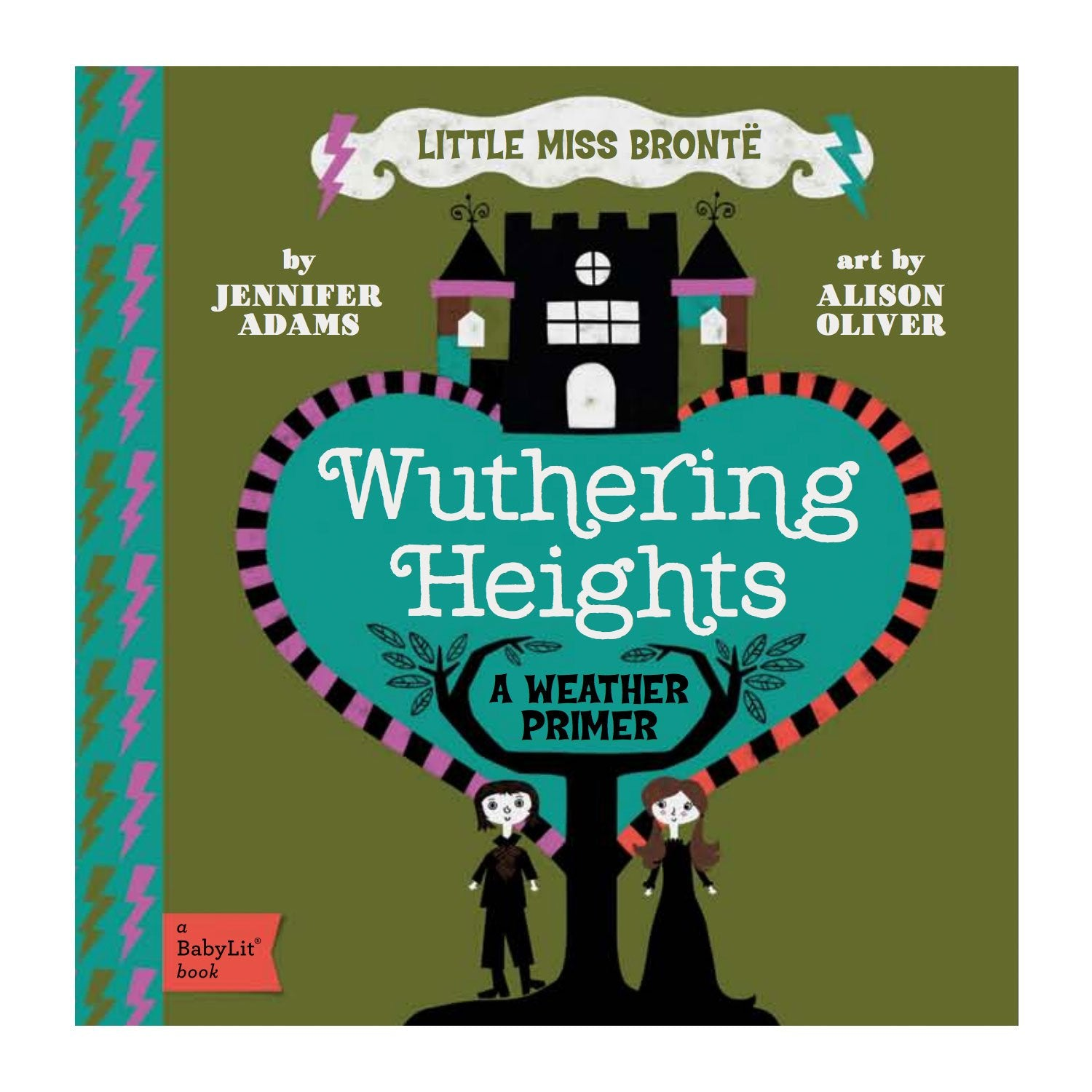 Wuthering Heights Baby Board Book Babylit Books at Little Earth Nest Eco Shop