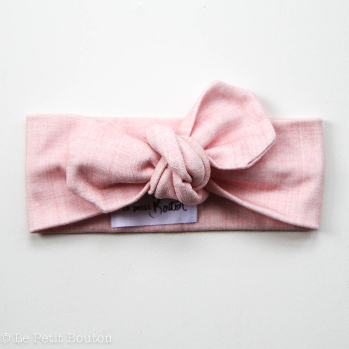 Bow Knot Headband Le Petit Bouton Baby & Toddler Clothing Emmett at Little Earth Nest Eco Shop