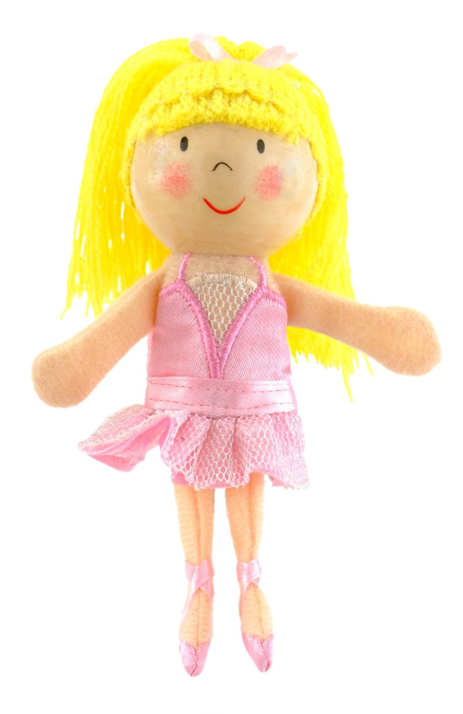 Boutique Finger Puppets Fiesta Crafts Toys Ballerina at Little Earth Nest Eco Shop
