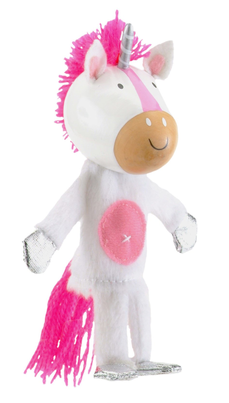 Boutique Finger Puppets Fiesta Crafts Toys Unicorn at Little Earth Nest Eco Shop