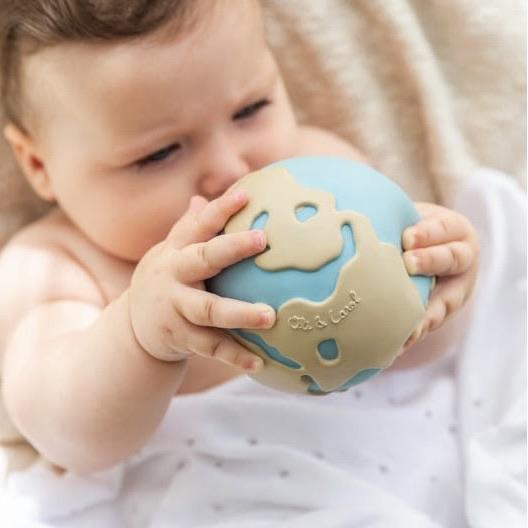 Earthy Baby Ball by Oli and Carol Little Earth Nest at Little Earth Nest Eco Shop