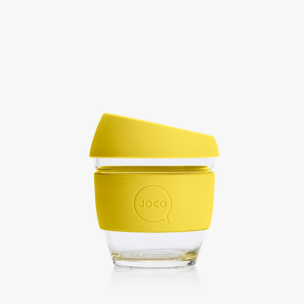 Joco Reusable Glass Cup 4oz Joco Coffee & Tea Cups Meadowlark at Little Earth Nest Eco Shop