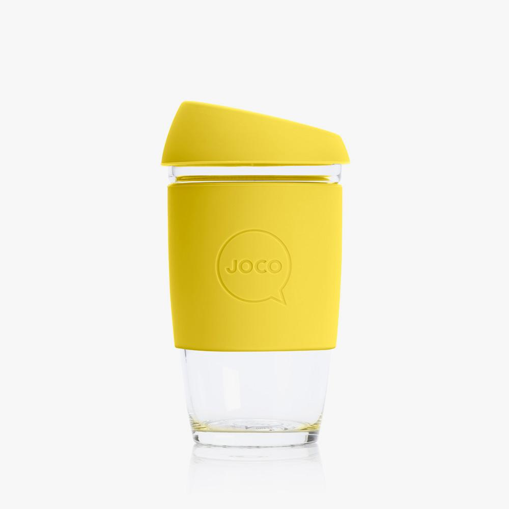 Joco Reusable Glass Cup 6oz Joco Coffee & Tea Cups Meadowlark at Little Earth Nest Eco Shop
