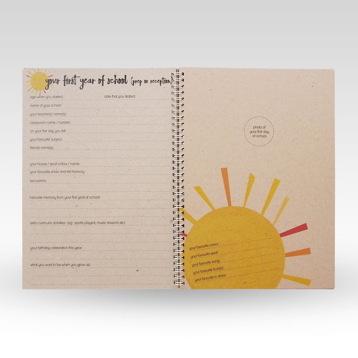 School Days Book RHI Creative Books at Little Earth Nest Eco Shop