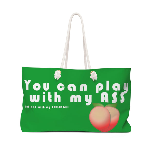 Play - Weekender Bag (Green) - Shop Naughty AlwaysGay Clothing, Bags & Accessories