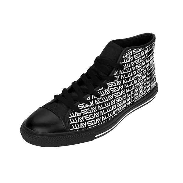 AlwaysGay - High-top Sneakers - Shop Naughty AlwaysGay Clothing, Bags & Accessories