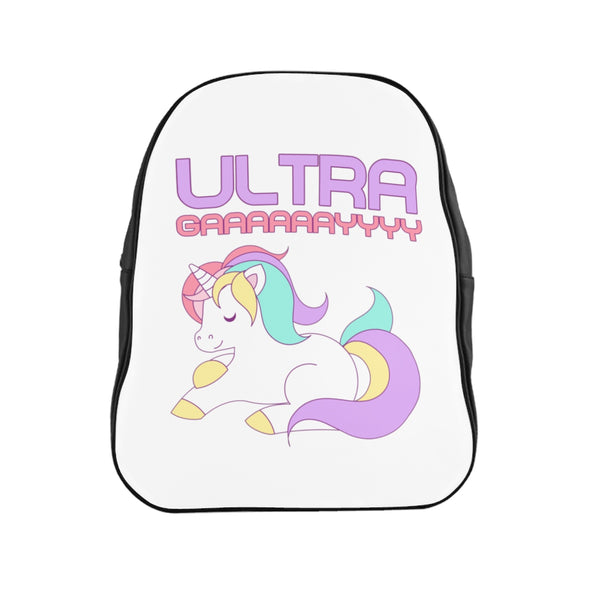 Ultra Gay - School Backpack - Shop Naughty AlwaysGay Clothing, Bags & Accessories