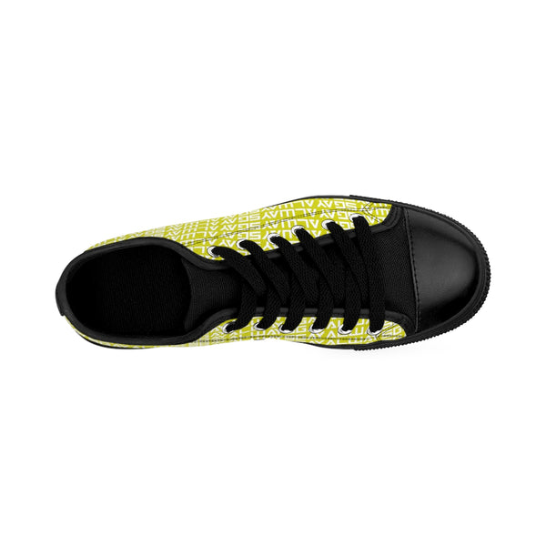 AlwaysGay - Men's Sneakers (Yellow) - Shop Naughty AlwaysGay Clothing, Bags & Accessories