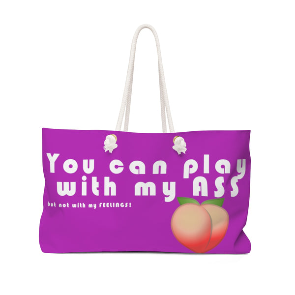 Play - Weekender Bag (Purple) - Shop Naughty AlwaysGay Clothing, Bags & Accessories