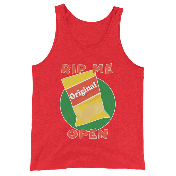Rip Me Open - Tank Top - Shop Naughty AlwaysGay Clothing, Bags & Accessories