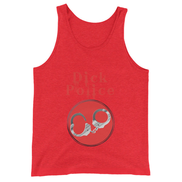 Dick Police - Tank Top - Shop Naughty AlwaysGay Clothing, Bags & Accessories