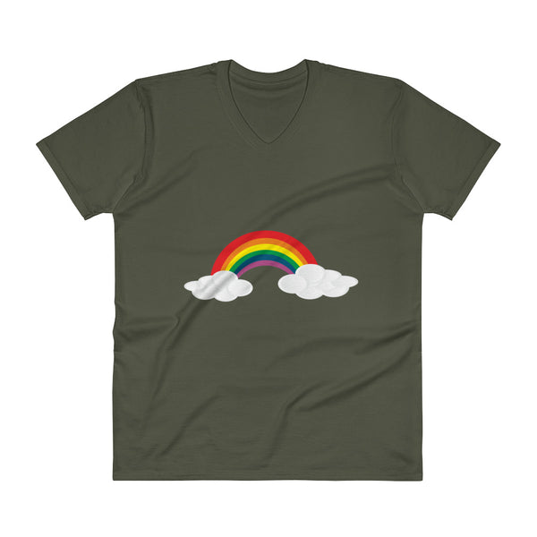 Rainbow - V-Neck - Shop Naughty AlwaysGay Clothing, Bags & Accessories