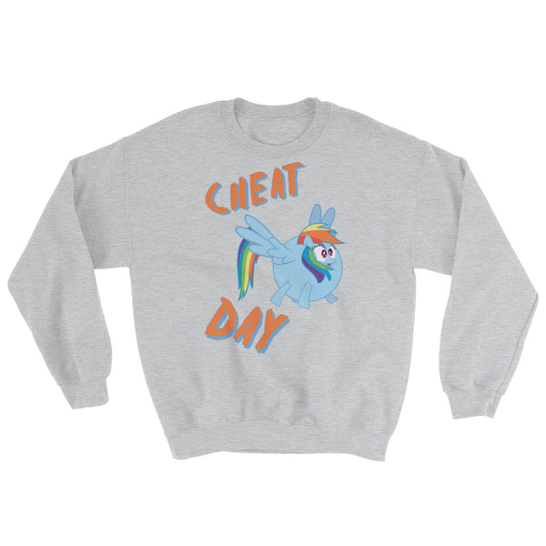 Cheat Day - Sweatshirt - Shop Naughty AlwaysGay Clothing, Bags & Accessories