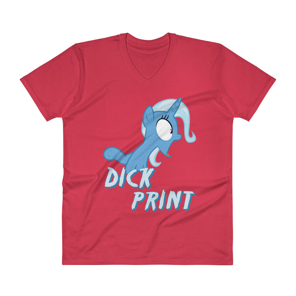 Dick Print - V-Neck - Shop Naughty AlwaysGay Clothing, Bags & Accessories