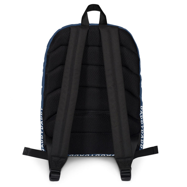 Daddy (Blue) - Backpack - Shop Naughty AlwaysGay Clothing, Bags & Accessories