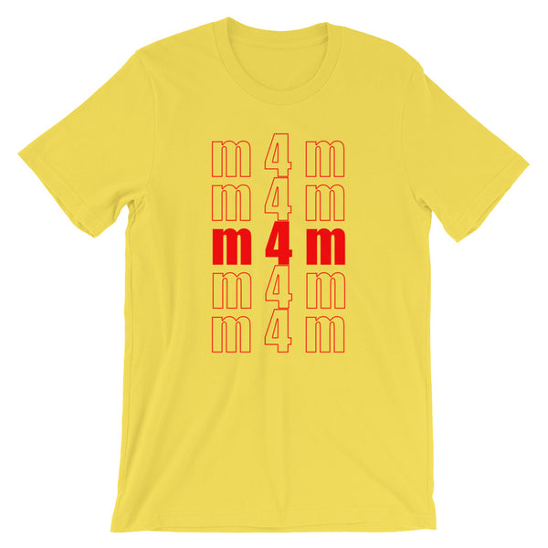 m4m - T-Shirt - Shop Naughty AlwaysGay Clothing, Bags & Accessories