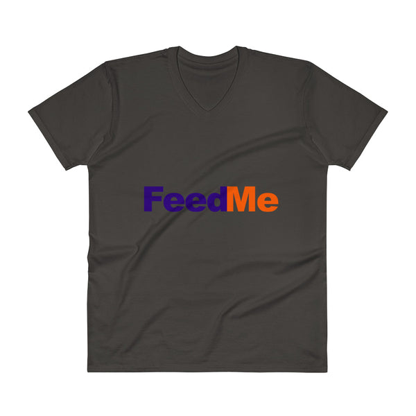 Feed Me - V-Neck - Shop Naughty AlwaysGay Clothing, Bags & Accessories