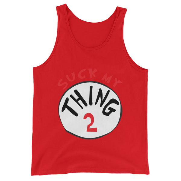 Thing 2 - Tank Top - Shop Naughty AlwaysGay Clothing, Bags & Accessories