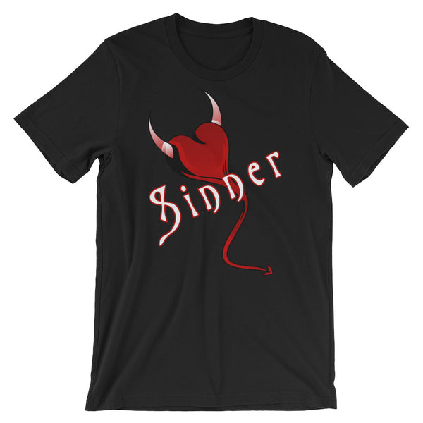 Sinner - T-Shirt - Shop Naughty AlwaysGay Clothing, Bags & Accessories