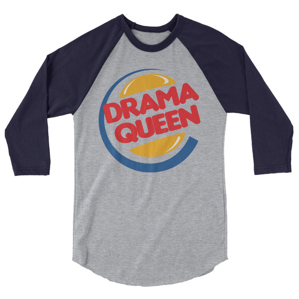 Drama Queen - Raglan - Shop Naughty AlwaysGay Clothing, Bags & Accessories